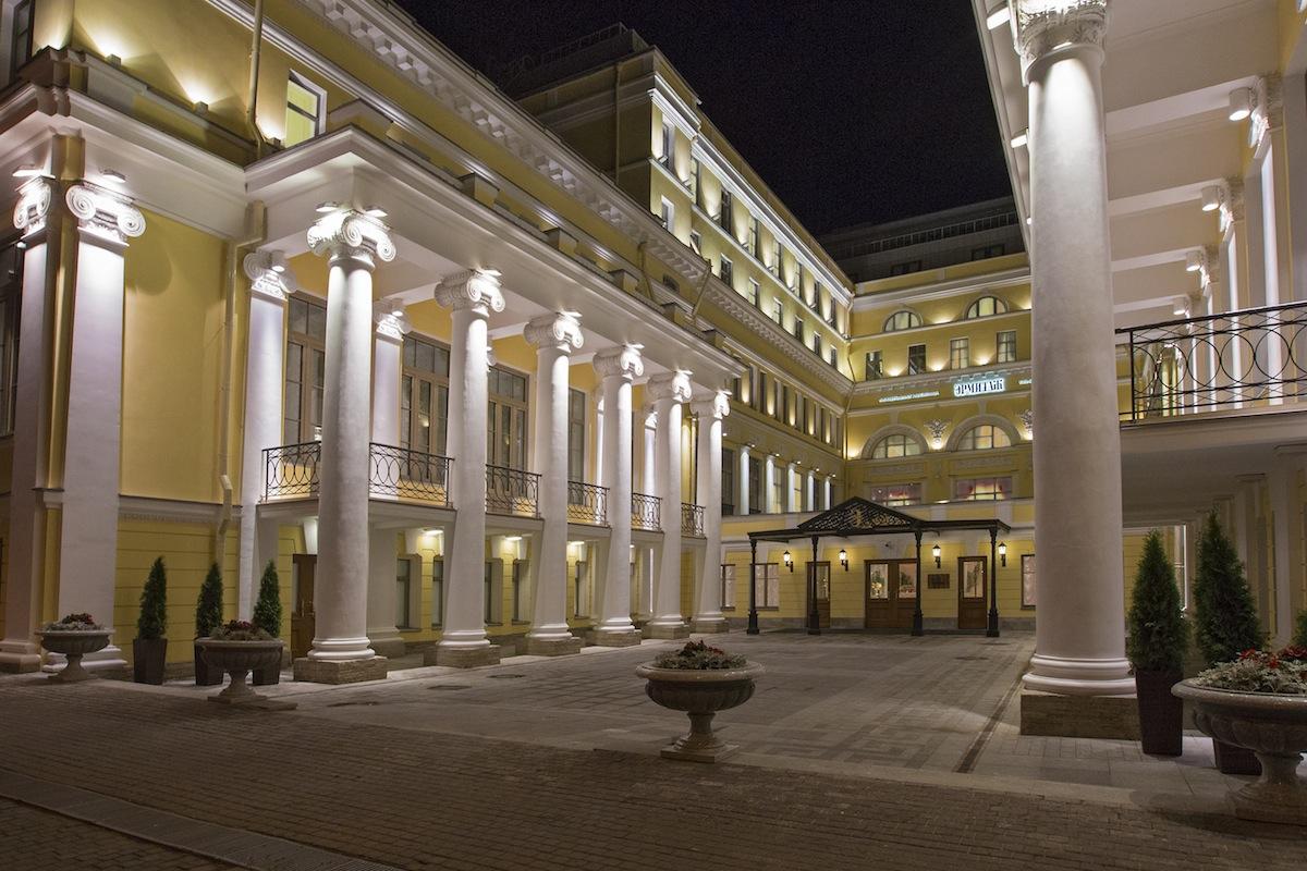 هتل استیت هرمیتاژ میوزیوم آفیشیال سن پترزبورگ