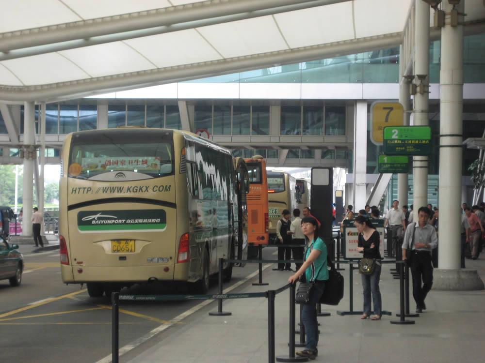 راههای دسترسی از فرودگاه گوانگجو