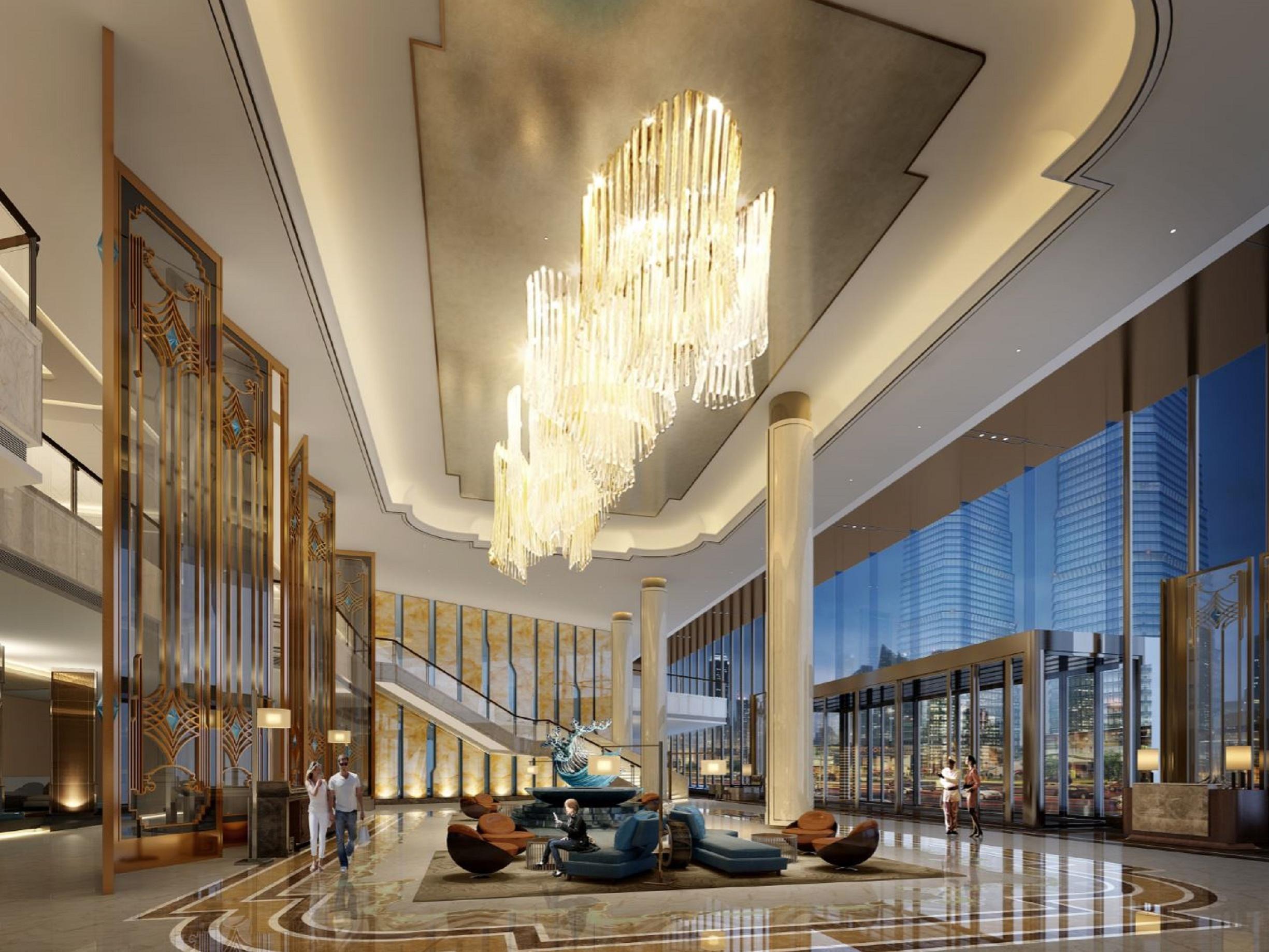 هتل کرون پلازا مسکو ترتیاکووسکایا