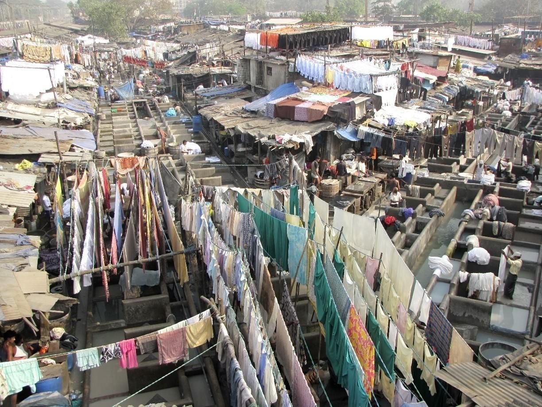 قدیمی ترین رخت شوی خانه بمبئی