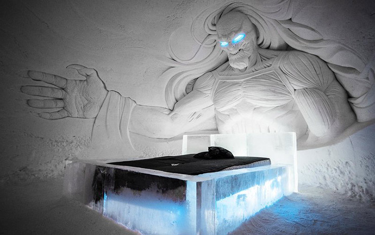 هتل یخی بازی تاج و تخت فنلاند