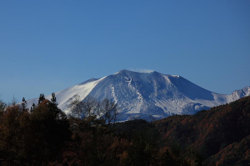 معروف ترین آتشفشان های ژاپن