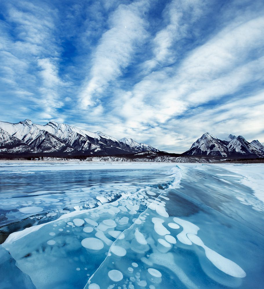 دریاچه آبراهام در کانادا