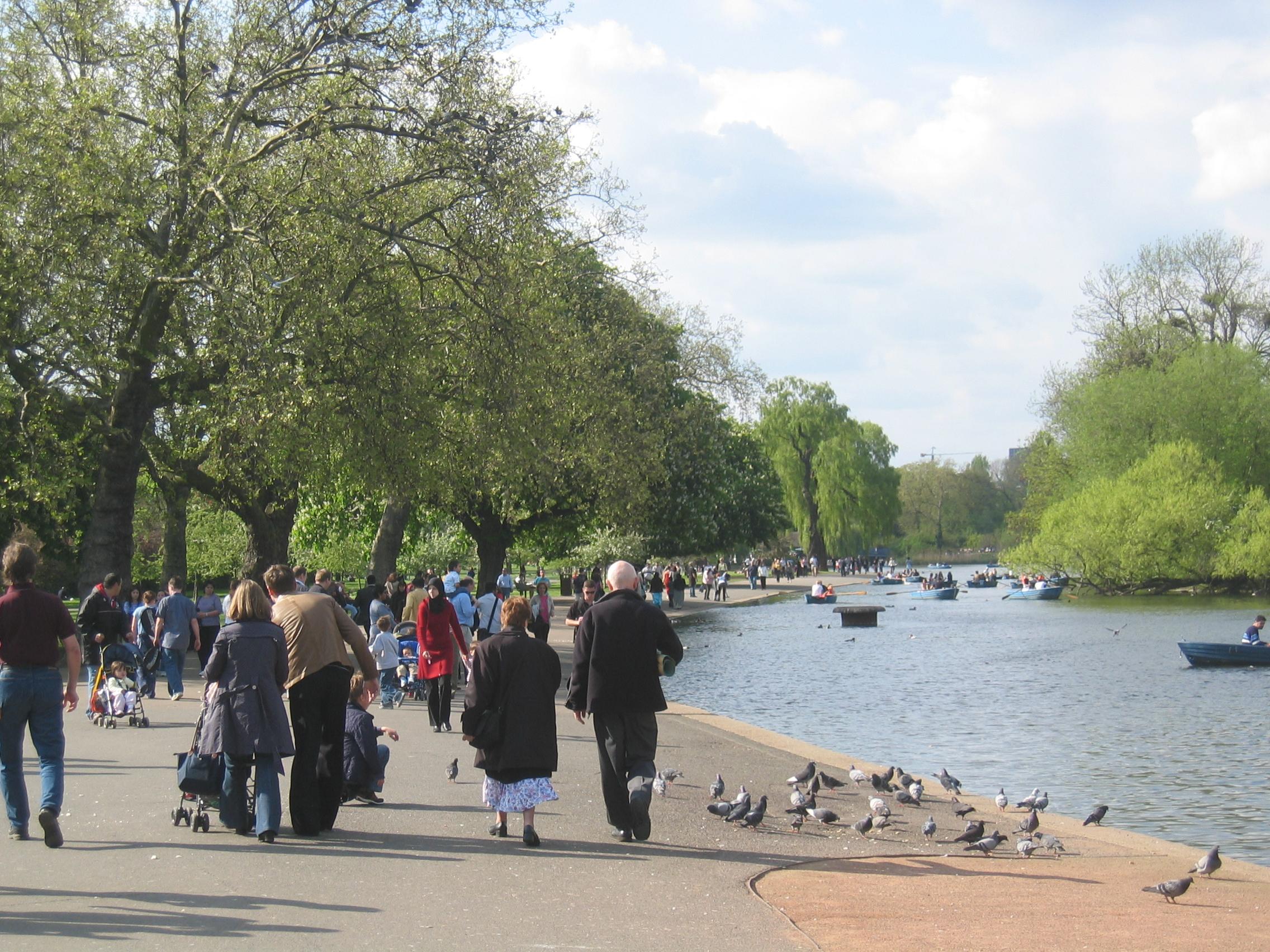 مکانهای زیبای لندن را بشناسید