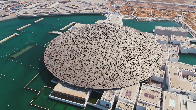اینجا موزه لوور است ، اما در ابوظبی