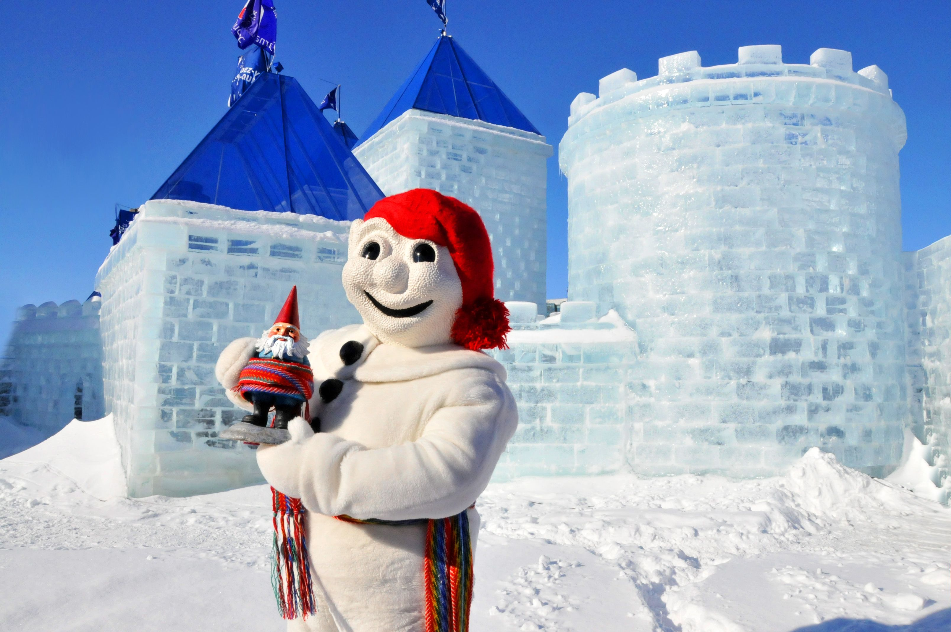 کارناوال دیدنی زمستانی کبک کانادا