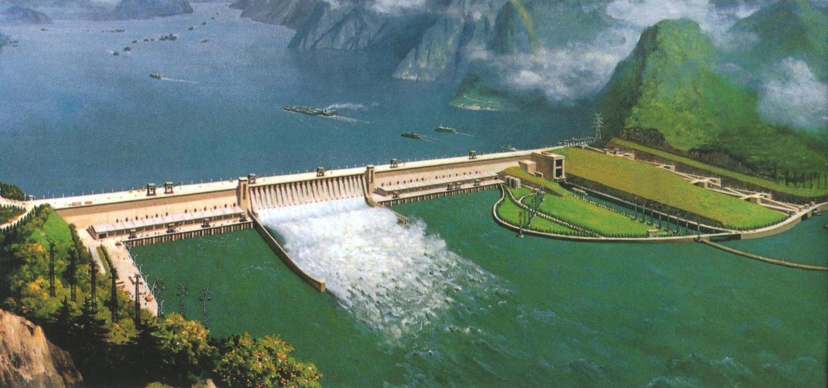 رودخانه یانگ تسه و سه دره
