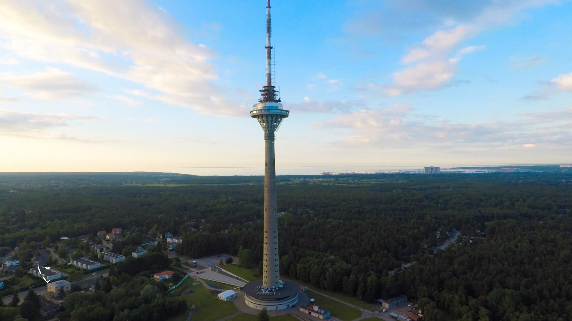 برج تلویزیون تالین