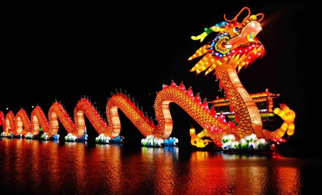 اژدها در چین
