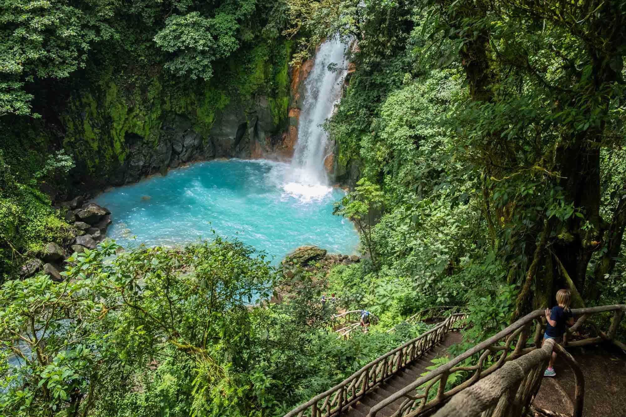 پارک ملی آتشفشانی تنوریو کاستاریکا