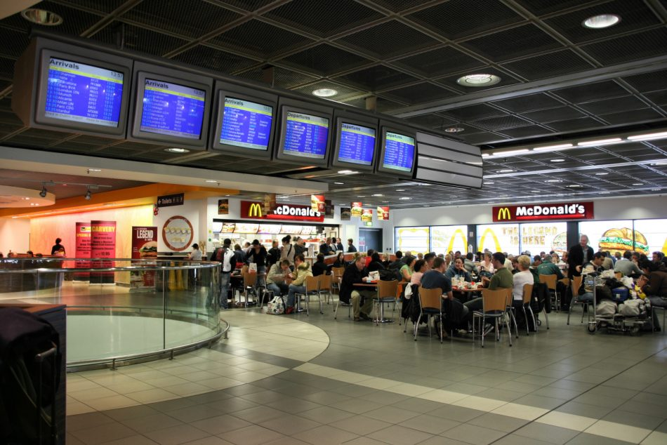 airport fast food
