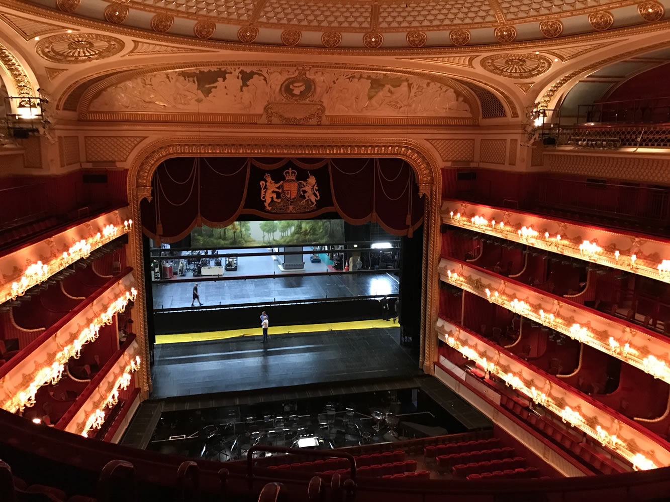 کاخ سلطنتی اپرای لندن