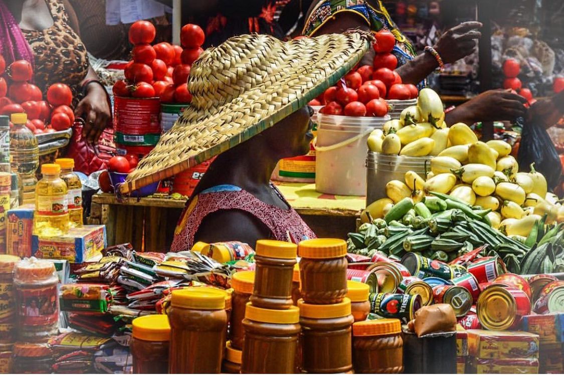 بازار ماکولا در آگرا