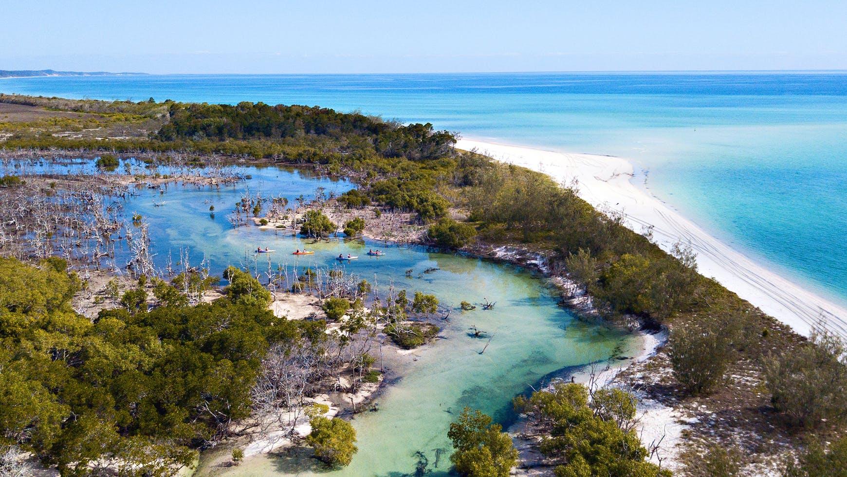 جزیره فریزر در کوئینزلند