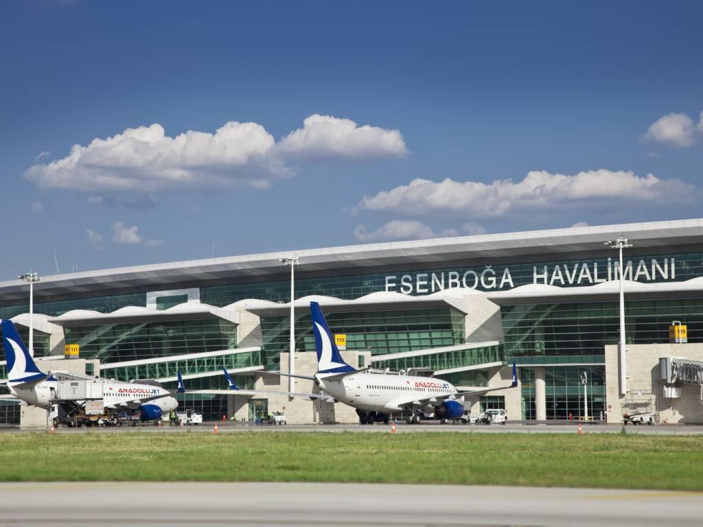 فرودگاه بین المللی آنکارا