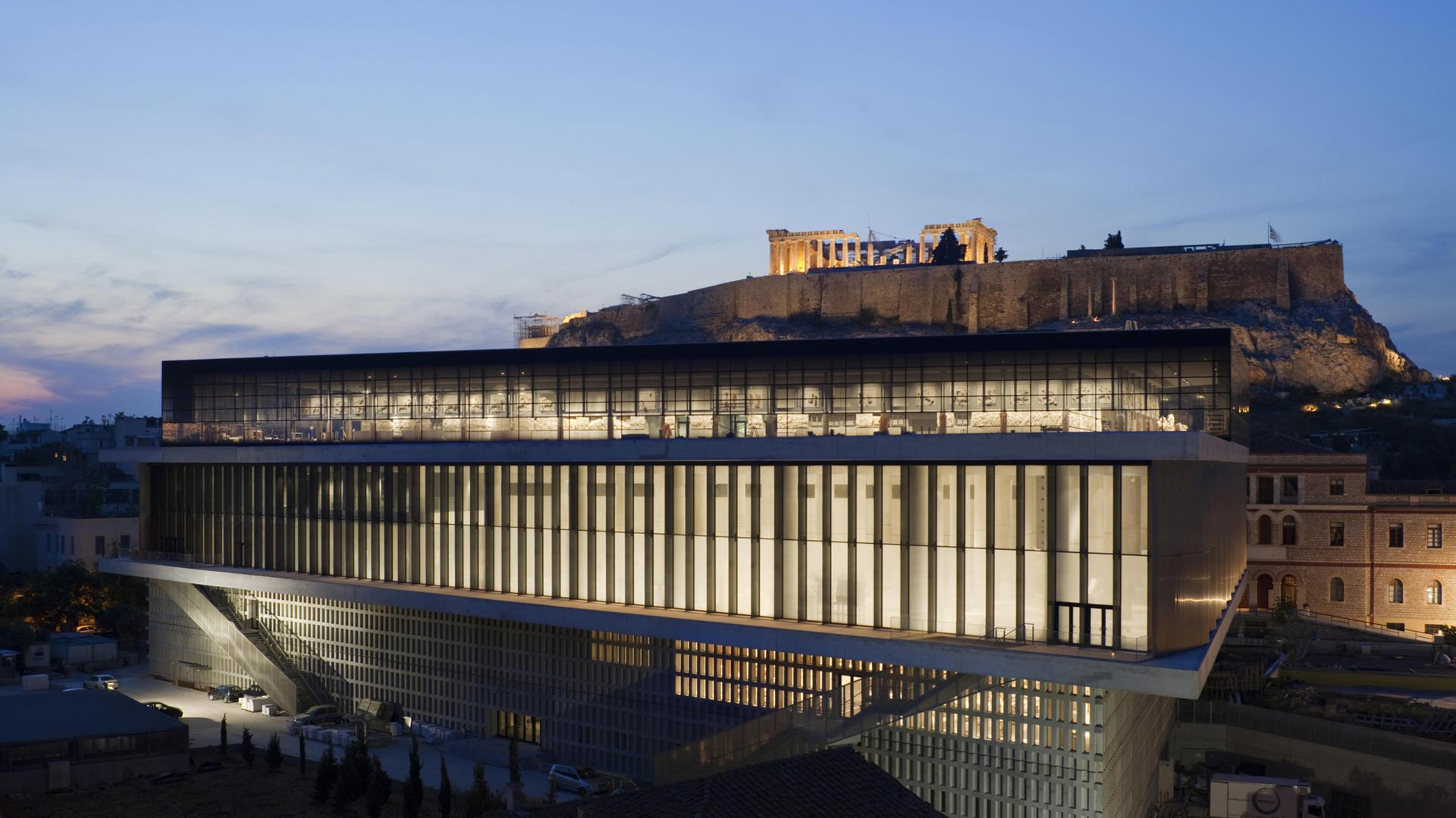 موزه آکروپولیس آتن