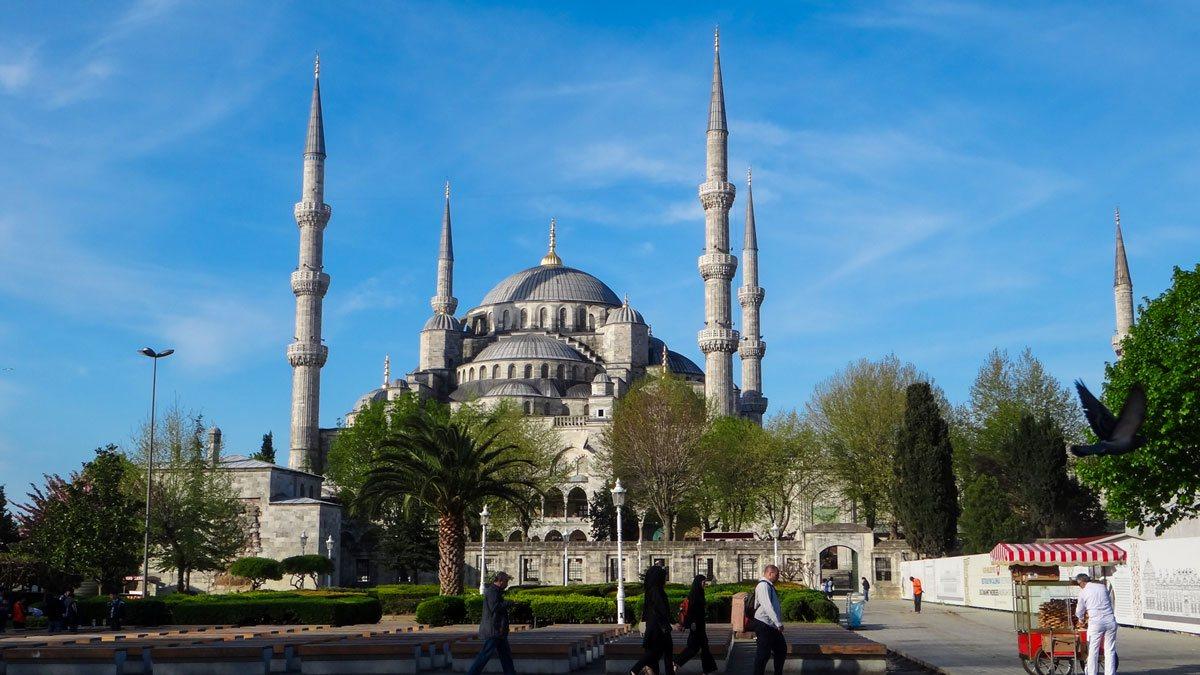 مناطق استانبول برای رزرو هتل
