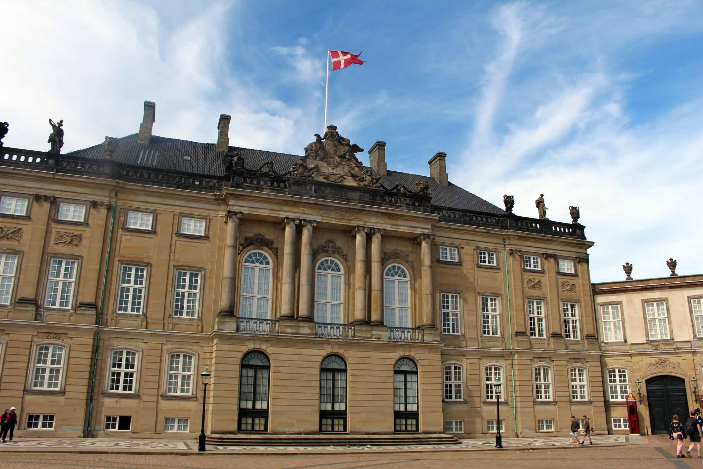 کاخ آمالینبورگ کپنهاگ دانمارک