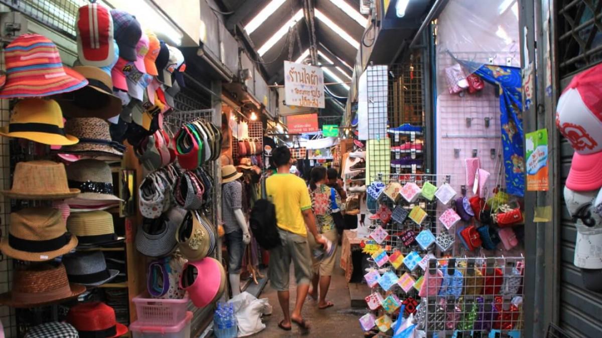 بازار جذاب و ارزان پراتونامبانکوک