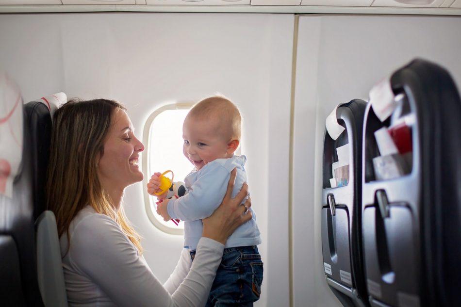 نوزاد در سفر