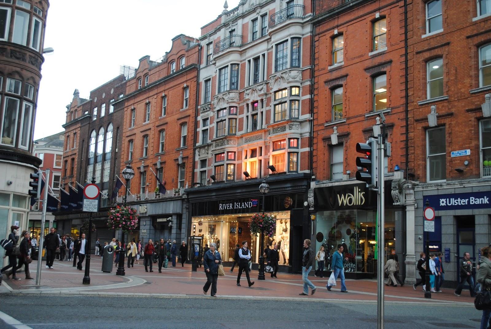 خیابان گرافتون در دوبلین