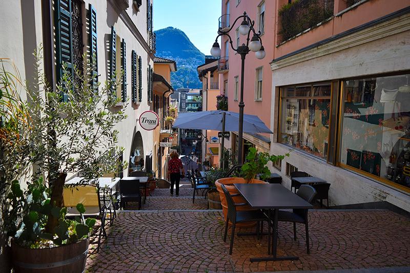 شهر قدیمی لوگانو