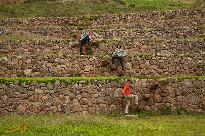 تراس های مورای پرو