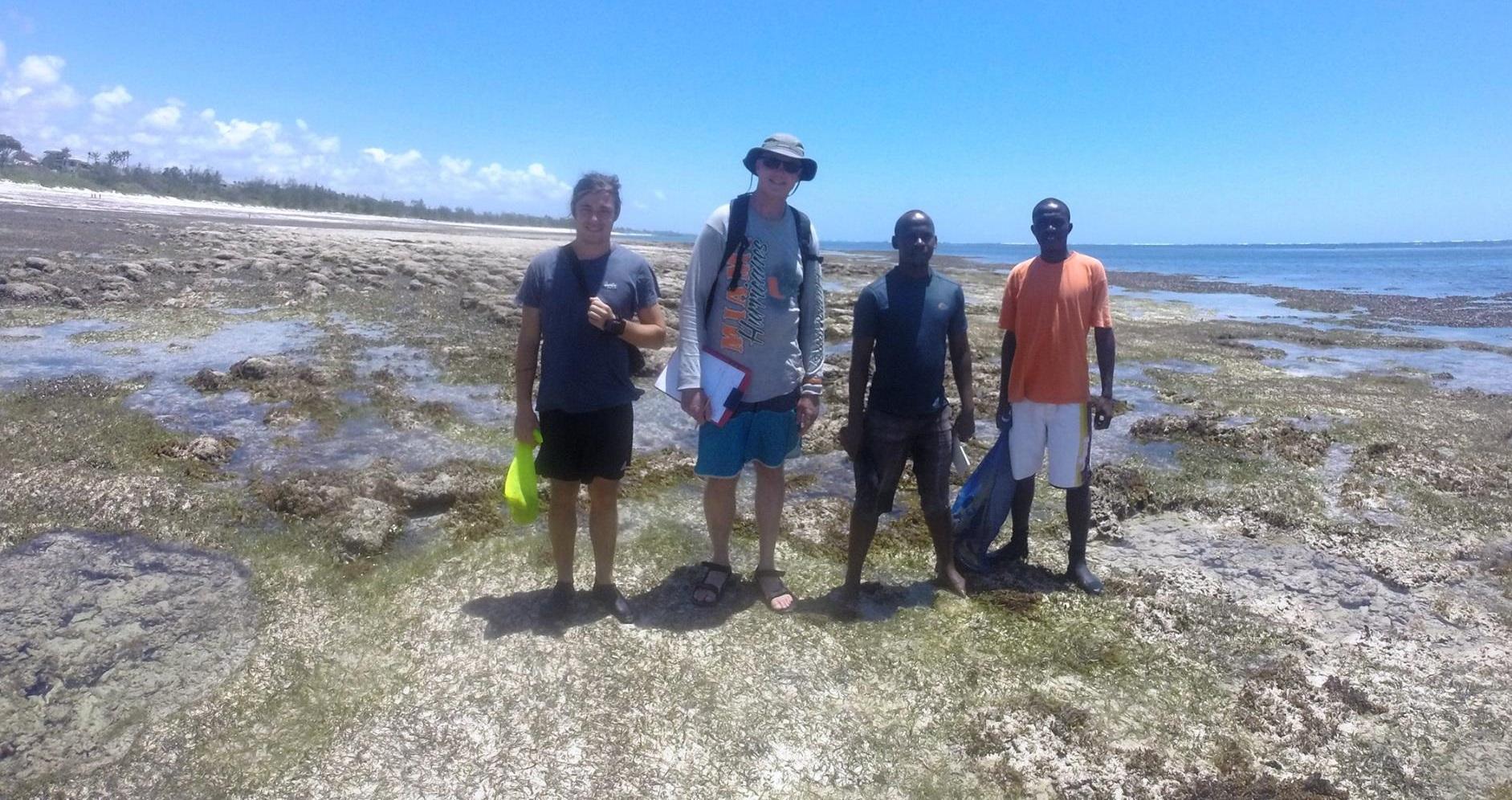 پارک ملی دریایی واتامو در کنیا