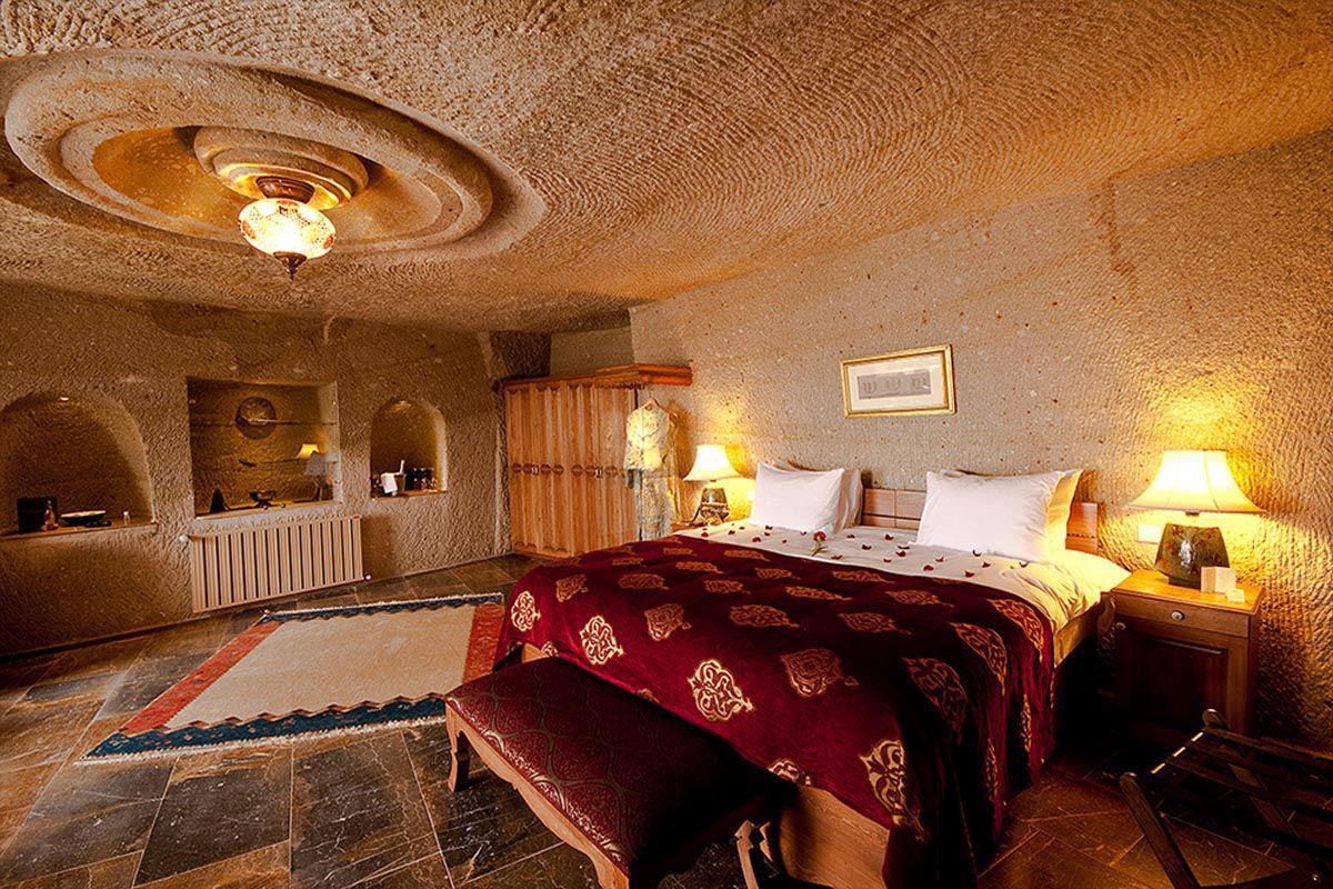هتلهای زیبا به شکل غار در کاپادوکیه