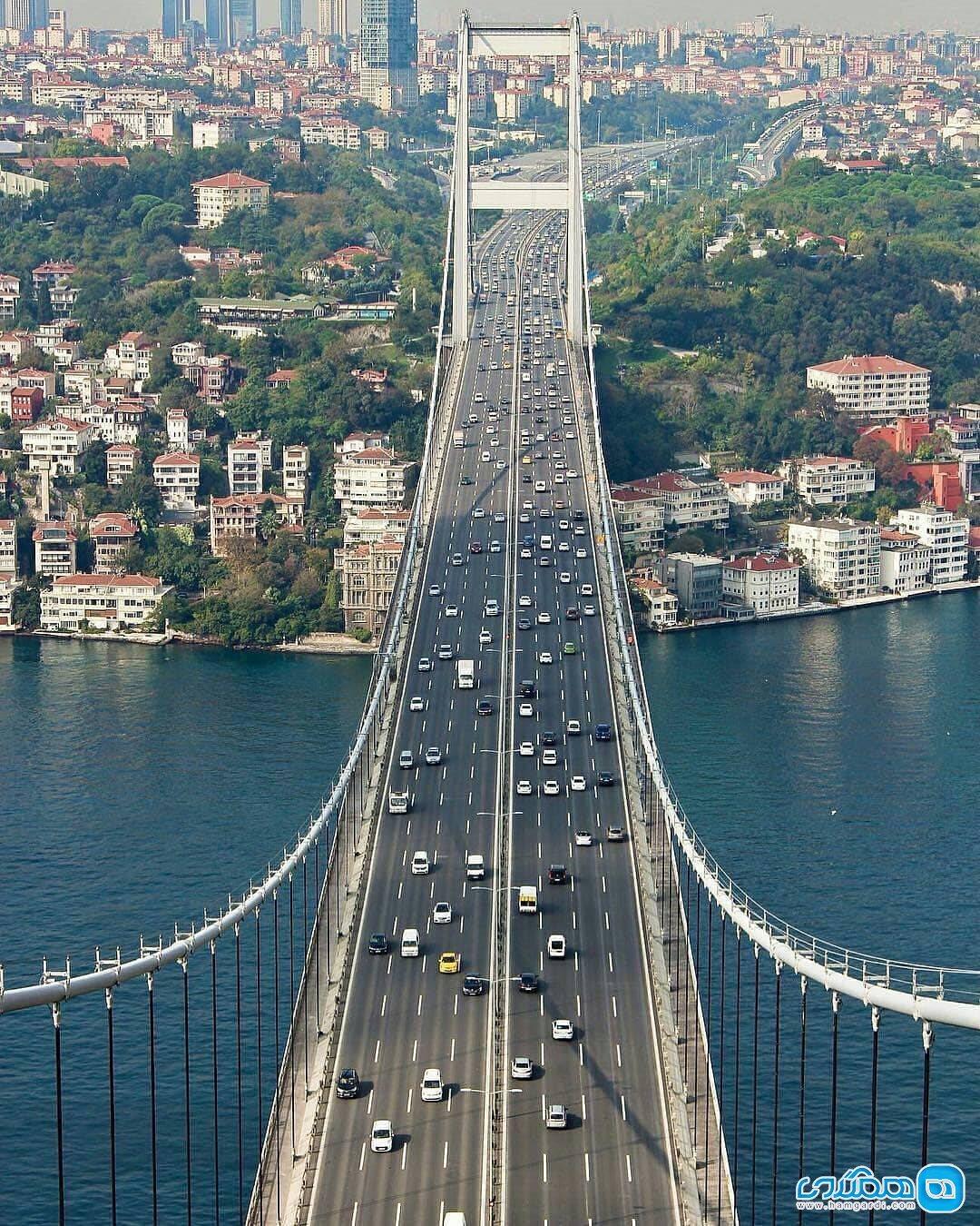 آشنایی با تنگه بسفر ترکیه