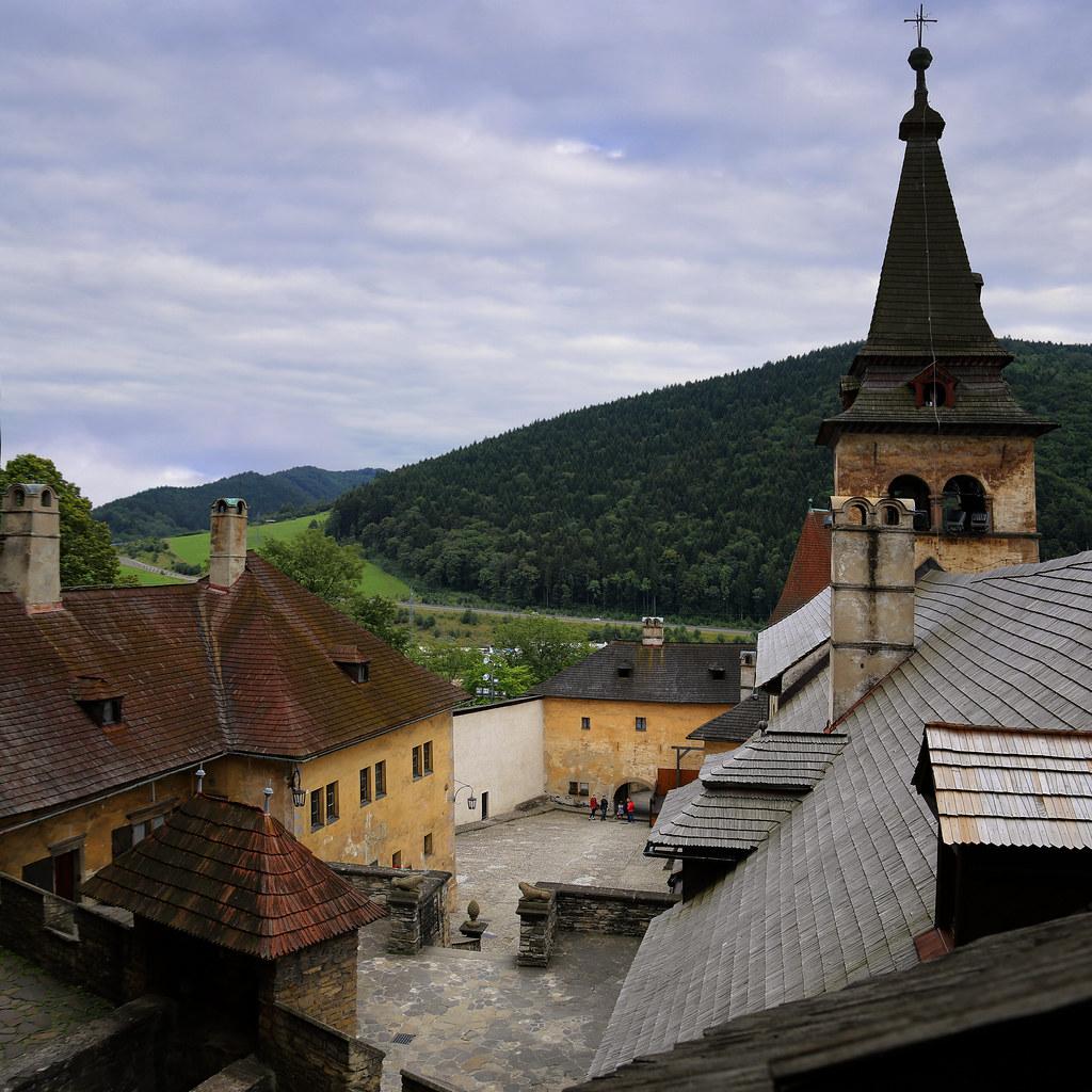قلعه اوراوا در اسلواکی