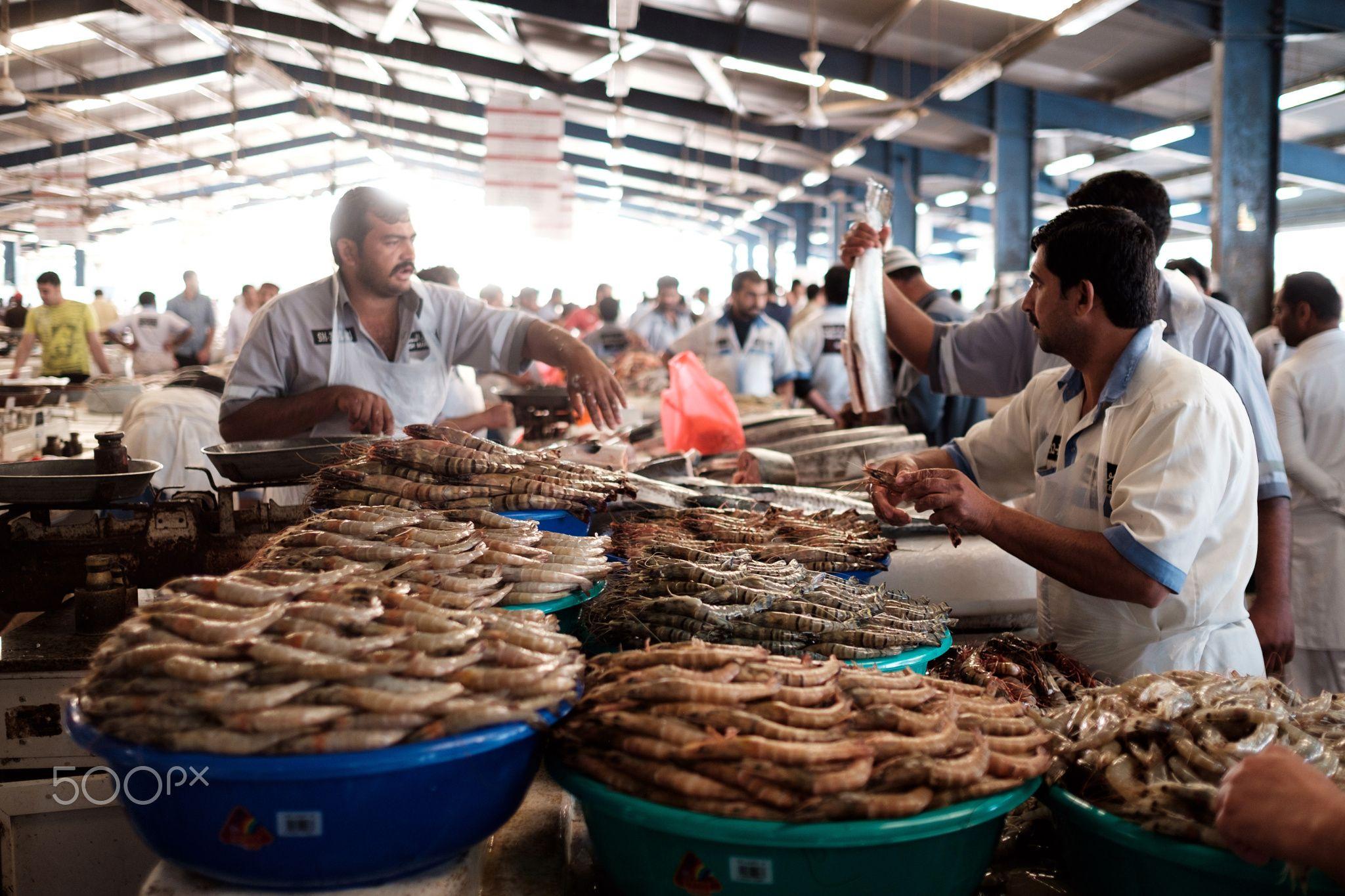 بازار ماهی دیره دبی