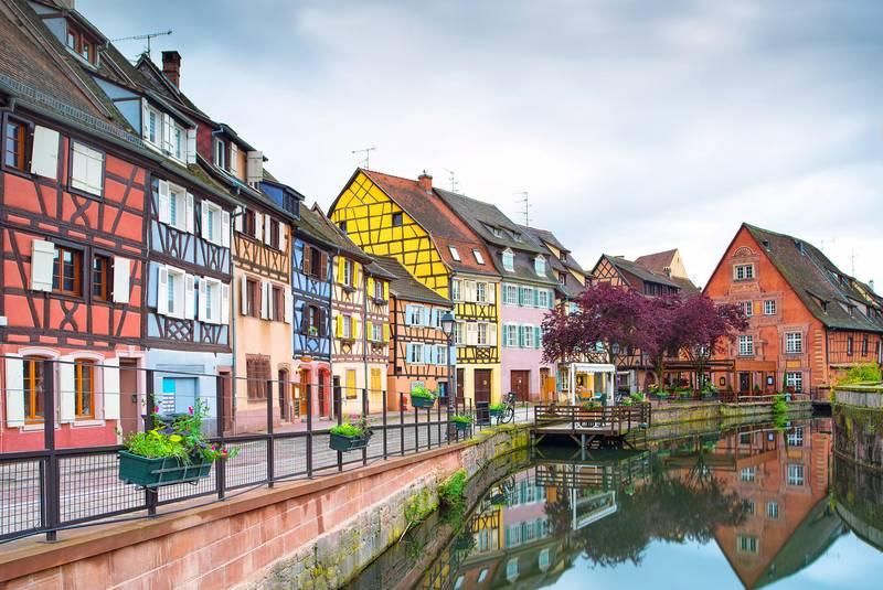 شهر رنگارنگ کولمار فرانسه شهر رنگارنگ کولمار فرانسه