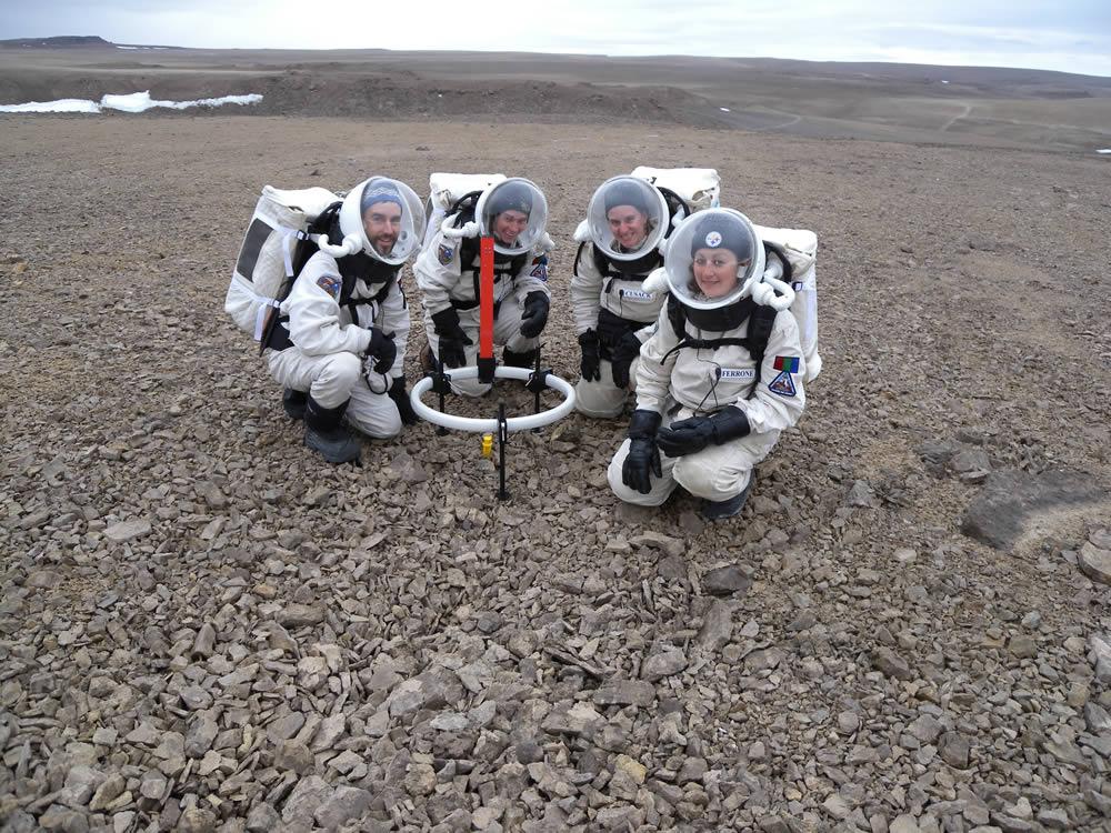 تکه ای از مریخ روی کره زمین