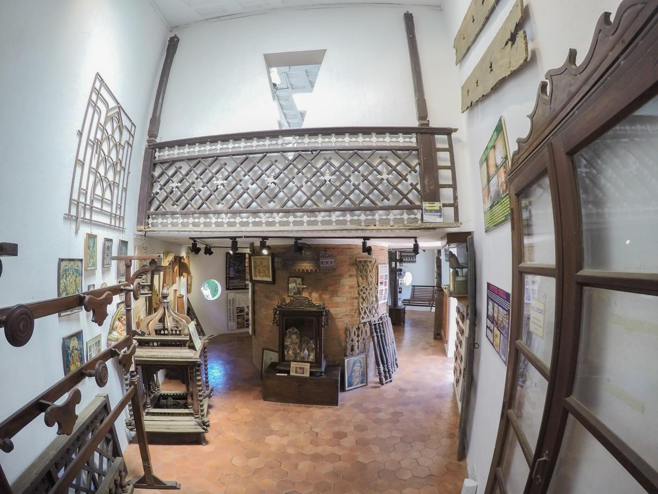 معماری هندو پرتغالی در موزه خانه گوا