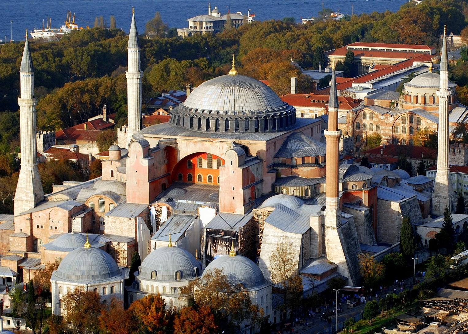 موزه ی ایاصوفیه را از نزدیک ببینید