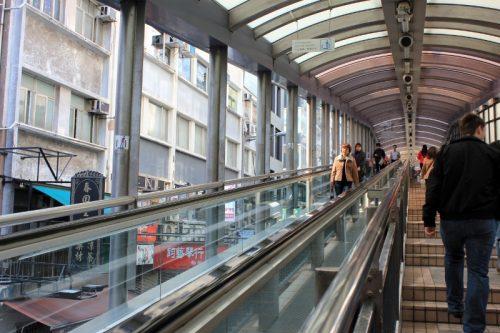 بلندترین پله برقی جهان در هنگ کنگ بلندترین پله برقی جهان در هنگ کنگ