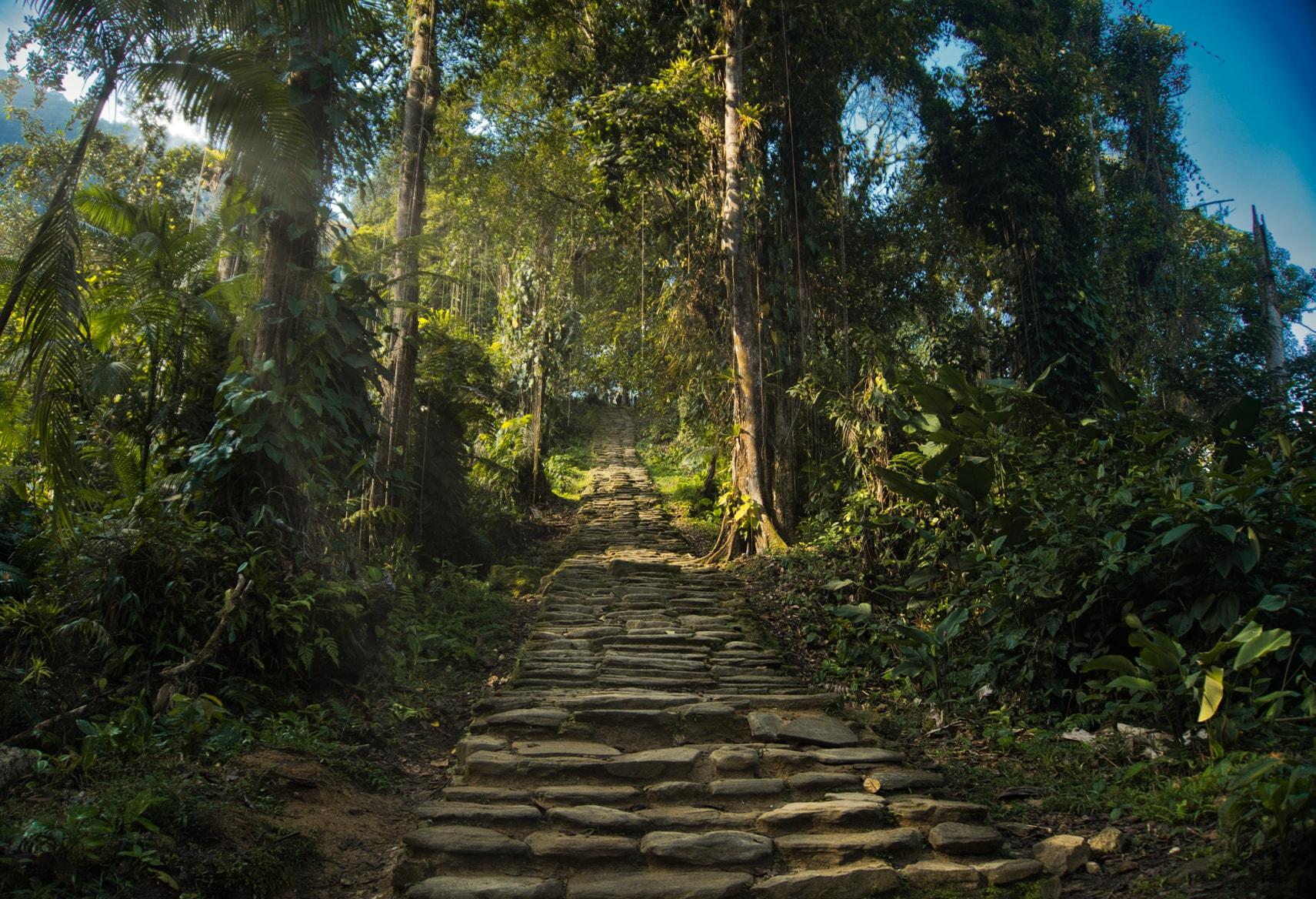 شهر گمشده در کلمبیا
