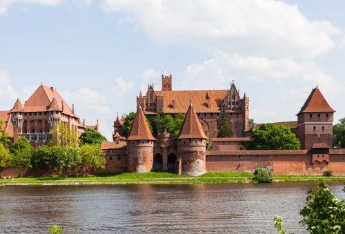 بزرگ ترین قلعه دنیا در لهستان