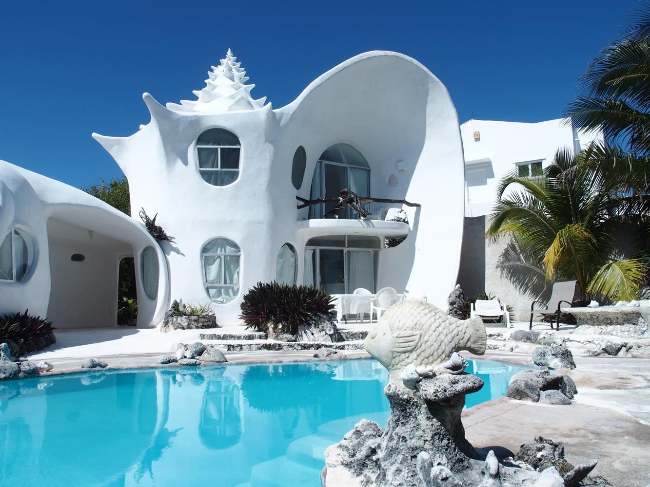 آیا تا بحال خانه حلزونی دیده اید ؟