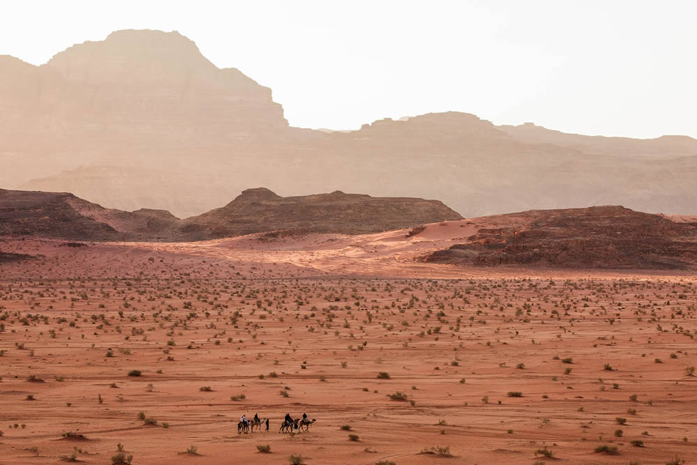 تکه ای از مریخ را در اردن ببینید