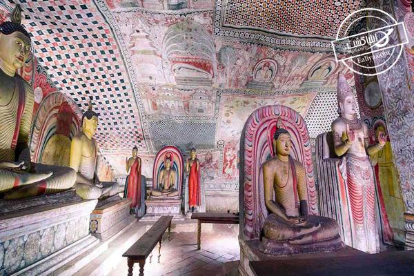 تاریخچه معبد غار دمبولا در سریلانکا