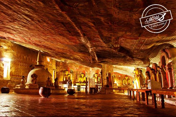 معبد غار دمبولا در سریلانکا