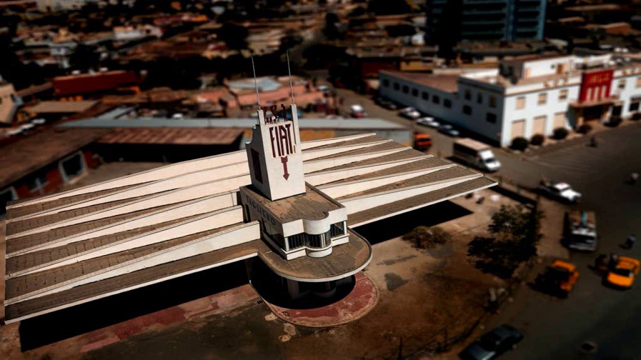 ساختمان فیات تگلیرو در اسمره