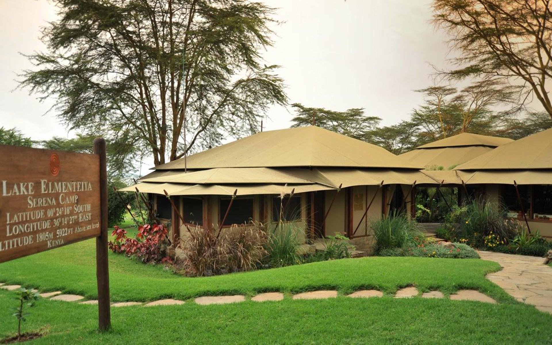 دریاچه ی المنتیتا در کنیا