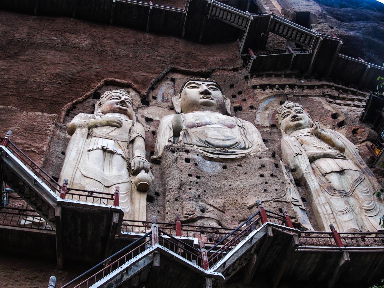 خانه های شگفتانگیز در غار مایجیشان چین