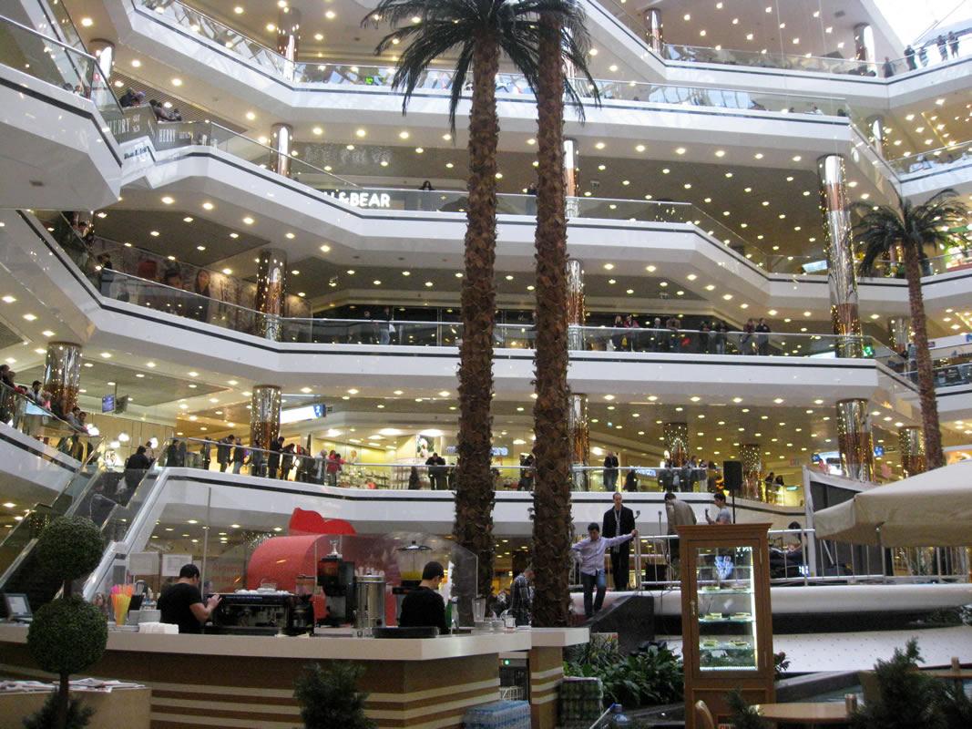 مرکز خرید بزرگ و زیبا، استانبول مال ترکیه