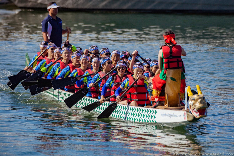 جشنواره قایقرانی اژدها در چین