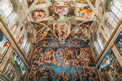کلیسایی که موزه نقاشی های میکل آنژ است
