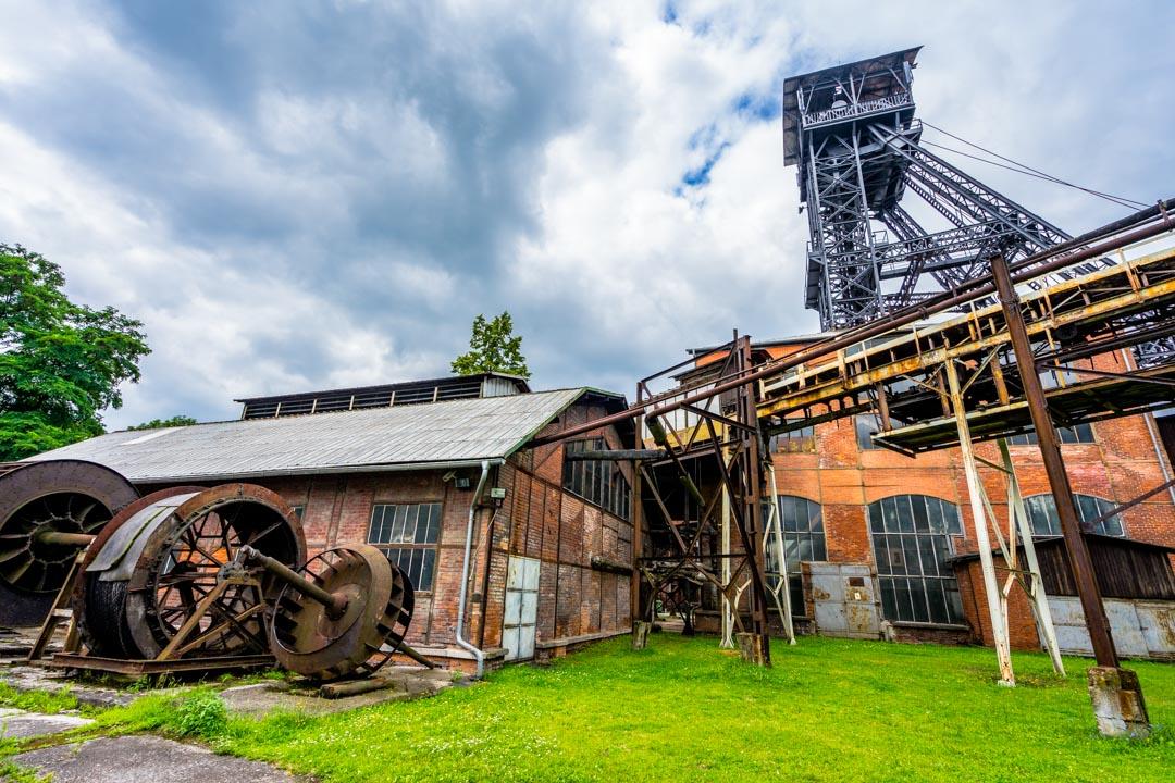 پارک لندک و موزه معدن اوستراوا